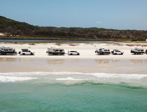 Our Caravanning Adenture on Moreton Island